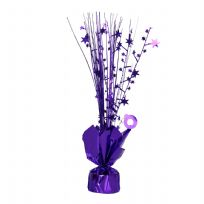 Purple Spray Centrepiece